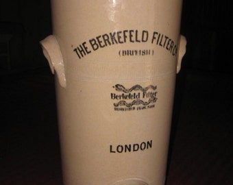 Vintage Antique British Berkefeld Water Filter