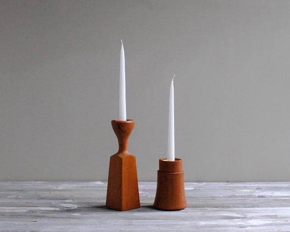 Vintage Dansk Candle Holders
