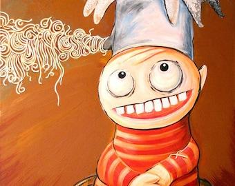 Spaghetti Pot (Giclee Print)