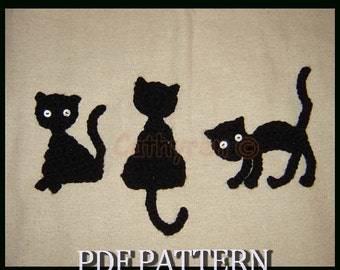 Cat Patterns - Free Applique