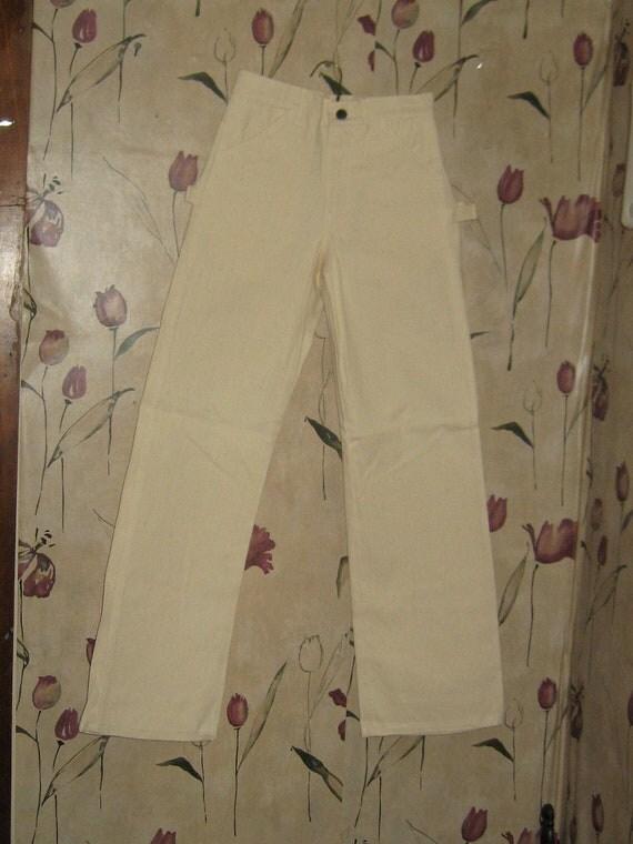 Vintage 60s Deadstock  WASHINGTON  Dee Cee  youth  painter  CARPENTER pants SZ 14