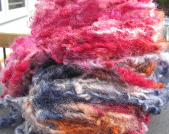 Fall Festival  HandSpun and Hand Dyed Yarn