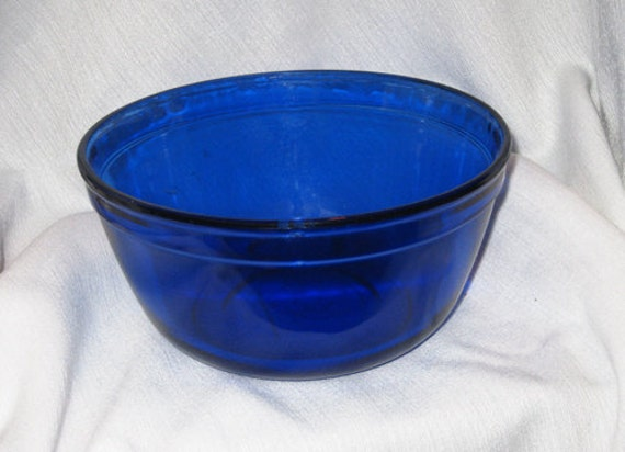 Anchor Hocking Cobalt Blue Mixing Bowl 1 5 By