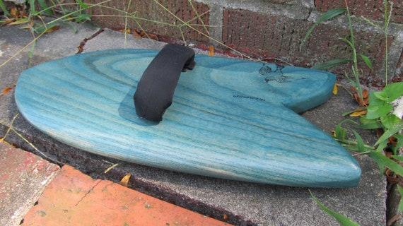 Big Fish Royal Paulownia Bodysurfing Hand Plane with new strap system