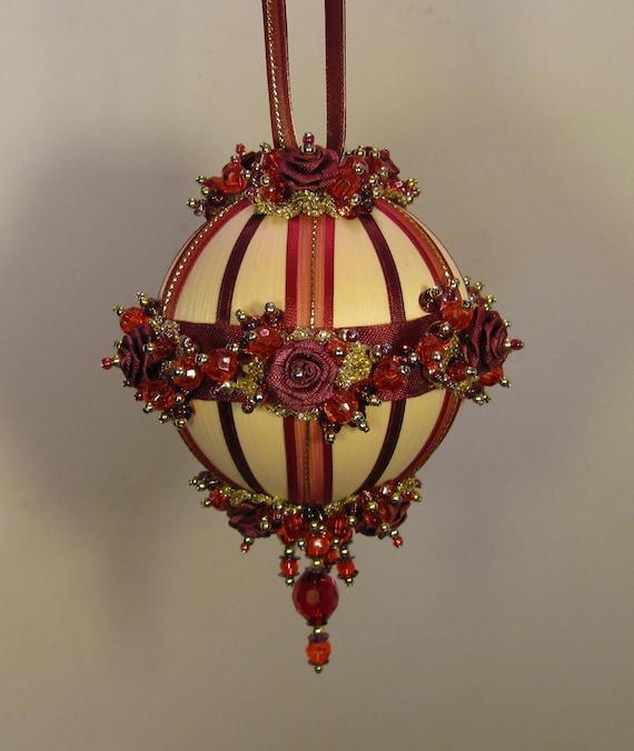 Christmas Tree Ornaments Etsy: Items Similar To Beaded Christmas Ornament Kit