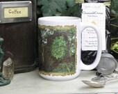 Greenman 15 oz coffee mug