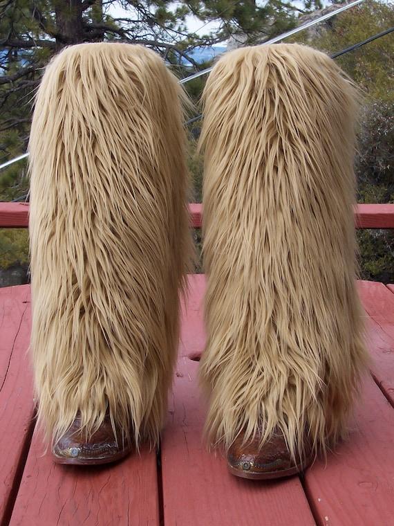Faux Fur Leg Muffs