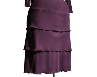 Womens clothing. Custom skirt. Layered skirt. Plus size A line layered skirt. Custom layered skirt. Plus size wide waist skirt. Womens skirt