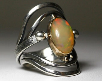 Center Of The Universe - Opal Ring