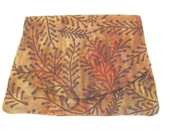 Autumn Sunset Batik Wallet