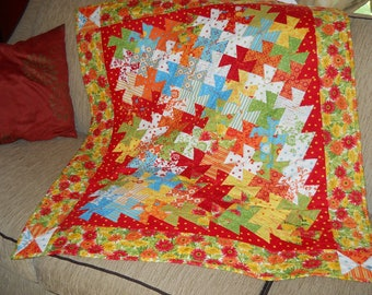 Quilted Wall-Hanging or Throw