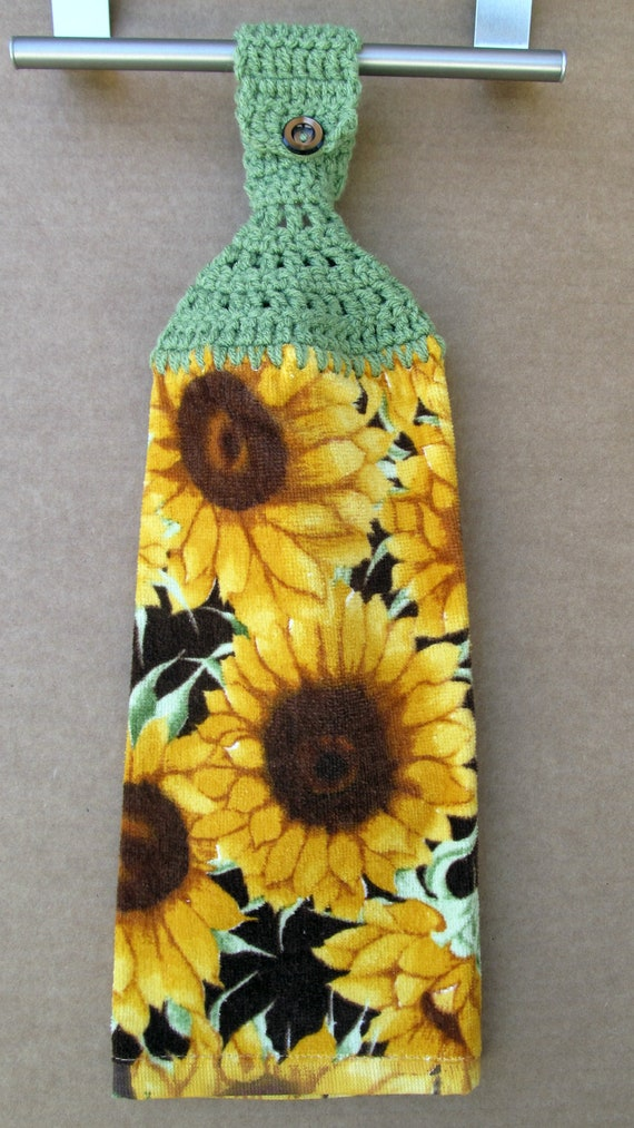 Sunflower Hanging Kitchen Towel With Crocheted Top. Acme Furniture Dining Room Set. Tension Room Divider. Ceiling Hung Room Dividers. What To Use To Divide A Room. Laundry Room Ideas Australia. Room Dividing Wall. Bar Room Designs For Home. Conference Room Av Design