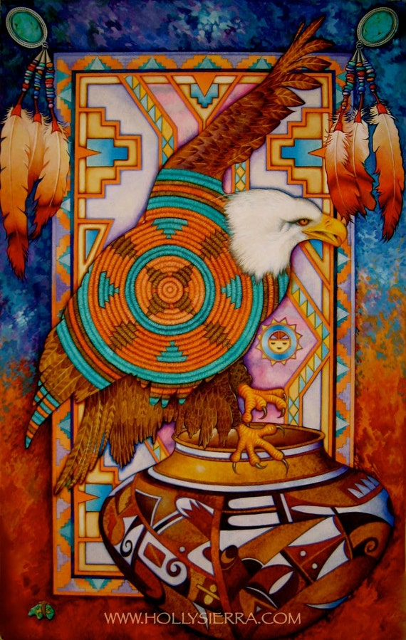 Sky Spirit A Native American Tribute To The Eagle