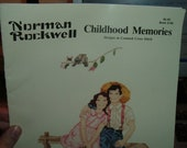 Norman Rockwell Childhood Memories Designs in Counted Cross Stitch Paragon 1988