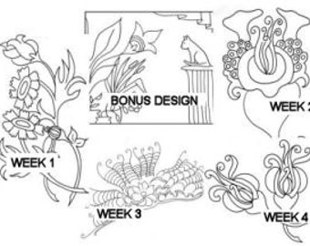 PDF Flower Designs for Hand Embroidery