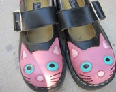 Cute Kitty MaryJanes