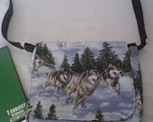 Wolfpack messenger bag