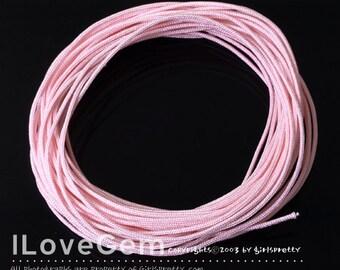 Korea Knotting Cord, Light Pink, 0.9mm, 10 meters