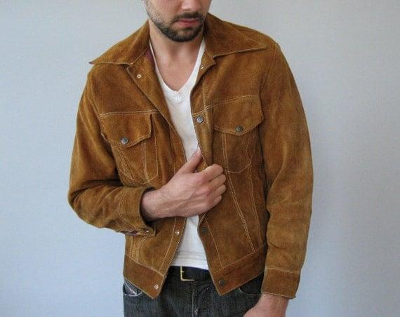 70's Suede Jacket - Medium