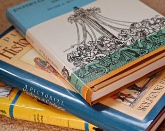 three historical costuming books