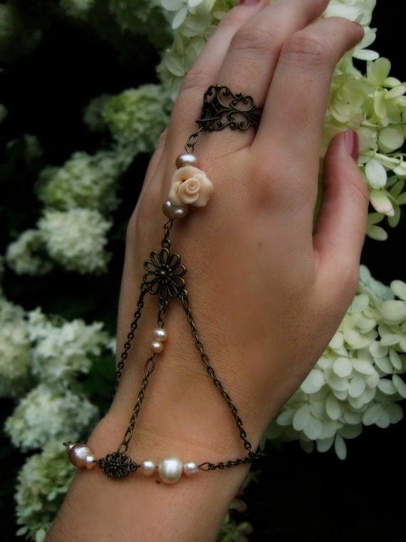 BRASS ROSES Slave Bracelet 022