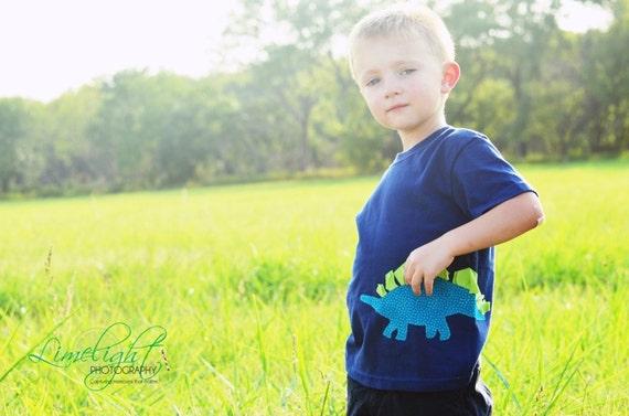 Boy's Dinosaur Shirt