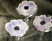 Anemone Flower Prints - Place cards, wishing tree, wedding decoration, baby shower, escort cards
