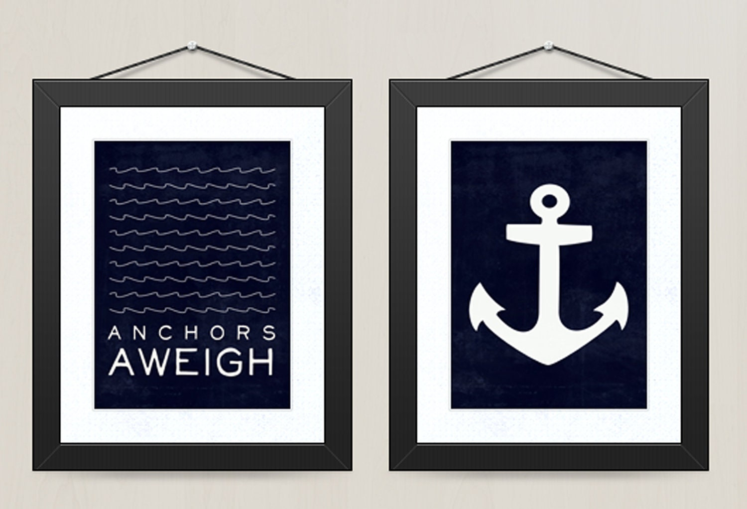 Sophisticated Modern Nautical Nursery: Request A Custom Order And Have Something Made Just For You