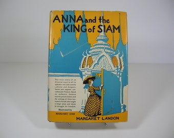 IISALEII Vintage Anna And The King Of Siam Book 1944