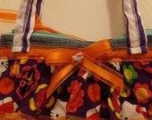 Hello Kitty Purple Orange Handbag