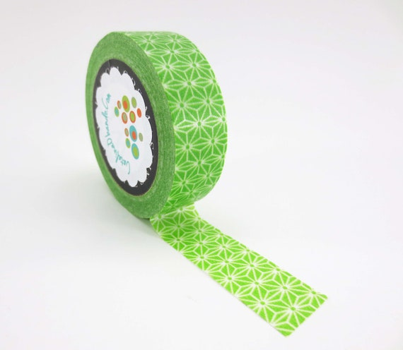 Washi tape Green Pattern Free Shipping