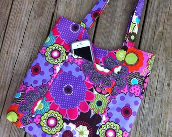 Fabric Tote/Handbag/Purse/Hobo - The Olivia - over 200 fabric choices
