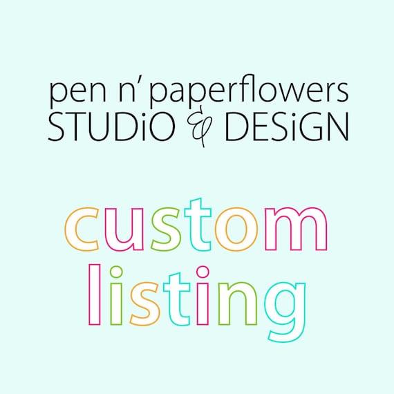 Custom Listing - Nicole Anthony (nicoleanthony1)