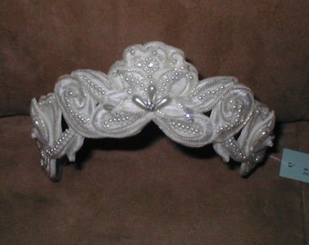 Bridal Headpiece white or ivory