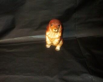 Vintage Japan Ceramic NORCREST Dachshund Dog Figurine
