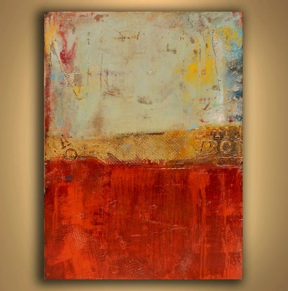 Large Textured  Abstract Original Painting
