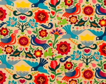 La Paloma - B Folklorico Alexander Henry  1 Yard Fabric NEW