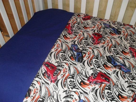 Hot Wheel Toddler Crib Bedding Set