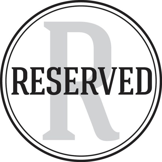 RESERVED for Rhiannon Nicole (Rhiannonbs)