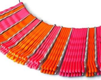 Items similar to NEON Jewelry Necklace Eco Fashion #2: il 340x270 8b3m