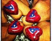 Houston Texans chunky resin ring