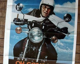 Oh God Book 2 - Original VINTAGE Movie Poster