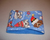 Dogs in Christmas Hats - Male Dog Belly Band - Male Dog Diaper - Available in all Sizes