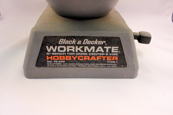 Black Amp Decker Hobbycrafter Workmate Bench Top Vice