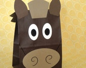 RESERVED for Riawill - Horse Birthday Party Favor Goody Bags by jettabees on Etsy
