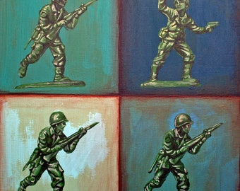 Green Army Men - Boy's Life: Childhood Treasures Series