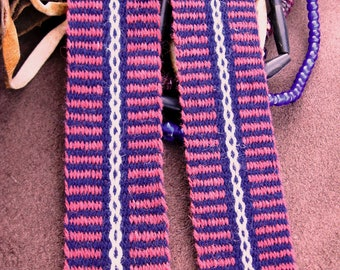 Red White and Blue Wool Sash