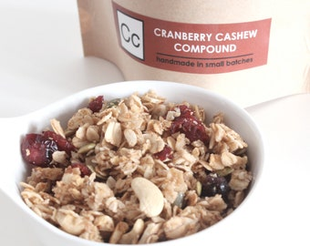 Cranberry Cashew Compound