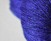 Severe Cobalt intoxication - Tussah Silk Lace Yarn