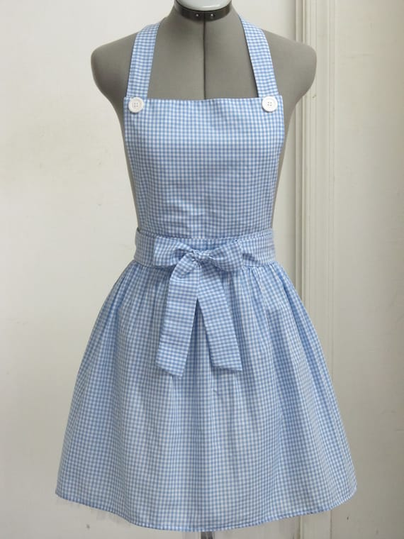Last One - Dorothy from the Wizard of Oz Apron - Great Costume for Halloween - Follow me to the Yellow Brick Road